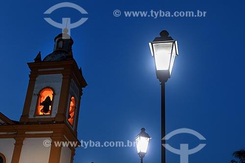 Detalhe do campanário da Catedral de Nossa da Senhora da Conceição  - Manaus - Amazonas (AM) - Brasil