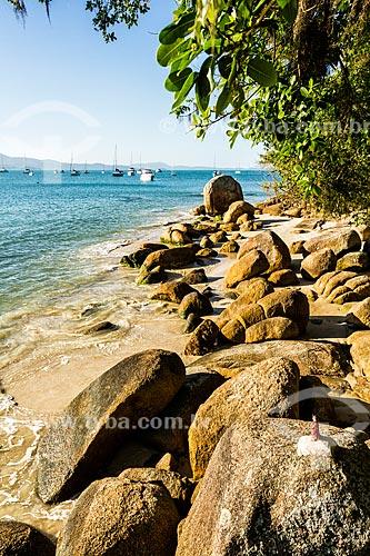 Vista da orla da Praia de Jurerê  - Florianópolis - Santa Catarina (SC) - Brasil