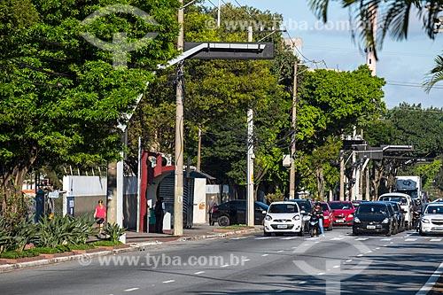 Semáforo na Avenida Goiás  - São Caetano do Sul - São Paulo (SP) - Brasil