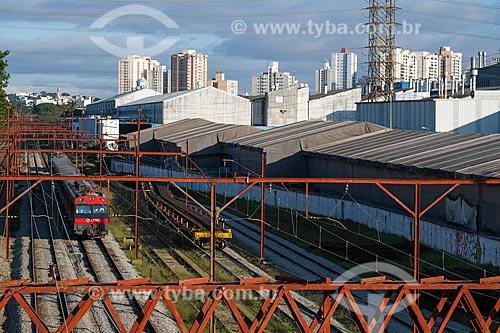 Vista da Estação São Caetano do Sul da CPTM  - São Caetano do Sul - São Paulo (SP) - Brasil