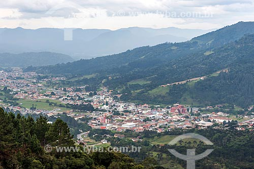 Vista geral da cidade de Urubici  - Urubici - Santa Catarina (SC) - Brasil