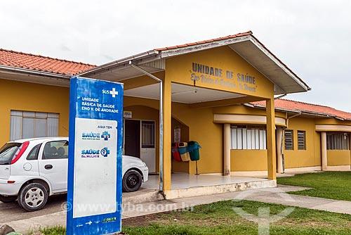 Posto de saúde da cidade de Urubici   - Urubici - Santa Catarina (SC) - Brasil