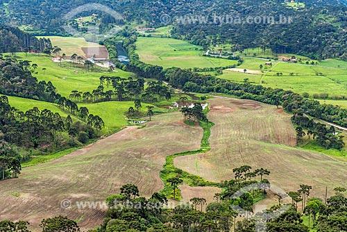 Vista a partir do Morro do Campestre  - Urubici - Santa Catarina (SC) - Brasil