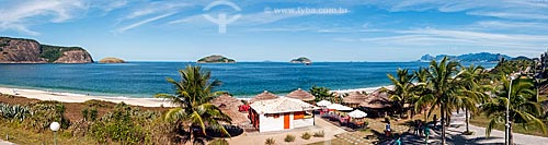 Vista da orla da Praia de Camboinhas  - Niterói - Rio de Janeiro (RJ) - Brasil