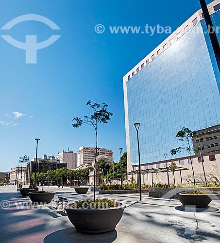 Vista do prédio anexo à Assembleia Legislativa do Estado do Rio de Janeiro (ALERJ) a partir da Praça XV de Novembro  - Rio de Janeiro - Rio de Janeiro (RJ) - Brasil