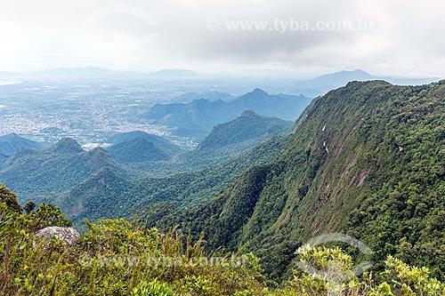 Vista durante a Travessia Cobiçado x Ventania no Parque Nacional da Serra dos Órgãos  - Petrópolis - Rio de Janeiro (RJ) - Brasil