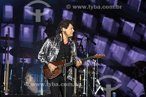 Frejat durante show no Palco Mundo - Rock in Rio 2017 no Parque Olímpico Rio 2016  - Rio de Janeiro - Rio de Janeiro (RJ) - Brasil