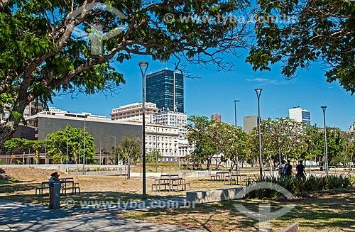 Vista da Praça Marechal Âncora  - Rio de Janeiro - Rio de Janeiro (RJ) - Brasil