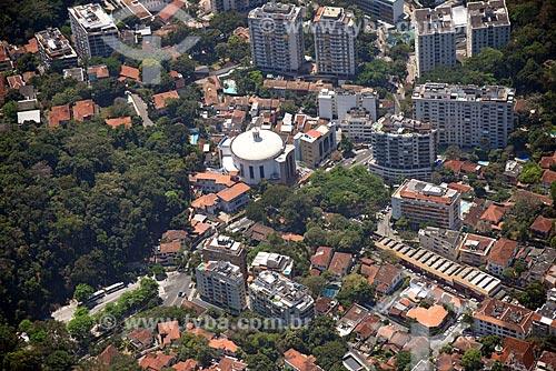 Foto aérea da Paróquia São Judas Tadeu  - Rio de Janeiro - Rio de Janeiro (RJ) - Brasil