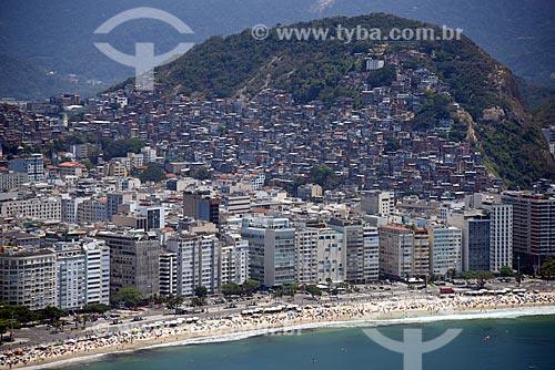 Foto aérea da Favela Pavão Pavãozinho  - Rio de Janeiro - Rio de Janeiro (RJ) - Brasil