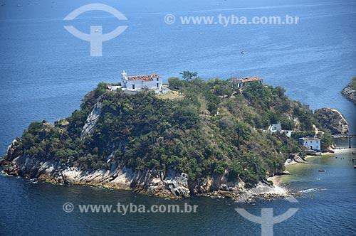 Foto aérea da Ilha da Boa Viagem  - Niterói - Rio de Janeiro (RJ) - Brasil