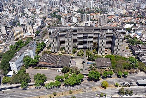 Foto aérea da Universidade do Estado do Rio de Janeiro  - Rio de Janeiro - Rio de Janeiro (RJ) - Brasil