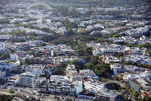 Foto aérea do Jardim Oceânico com a Praça do Pomar  - Rio de Janeiro - Rio de Janeiro (RJ) - Brasil