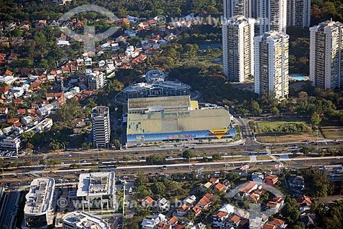 Foto aérea do supermercado Guanabara  - Rio de Janeiro - Rio de Janeiro (RJ) - Brasil
