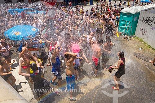 Desfile do bloco de carnaval de rua Escravos da Mauá  - Rio de Janeiro - Rio de Janeiro (RJ) - Brasil