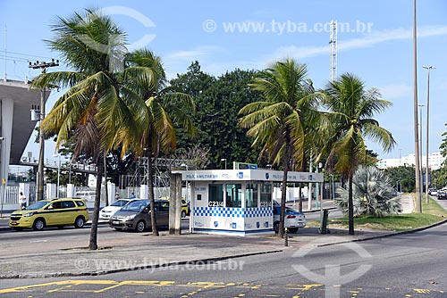 Cabine da Polícia na Avenida Borges de Medeiros próximo ao Lagoon Rio  - Rio de Janeiro - Rio de Janeiro (RJ) - Brasil
