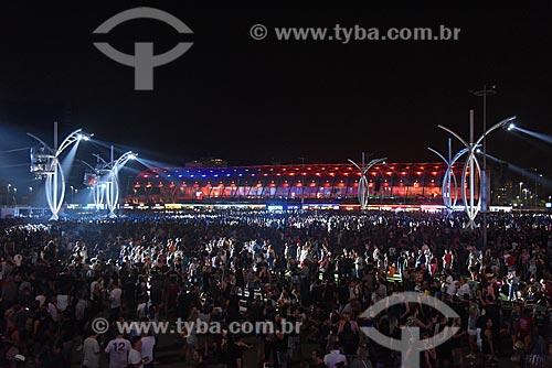 Público no Rock in Rio 2017 no Parque Olímpico Rio 2016 durante o show da banda 5 Seconds of Summer no Palco Mundo  - Rio de Janeiro - Rio de Janeiro (RJ) - Brasil
