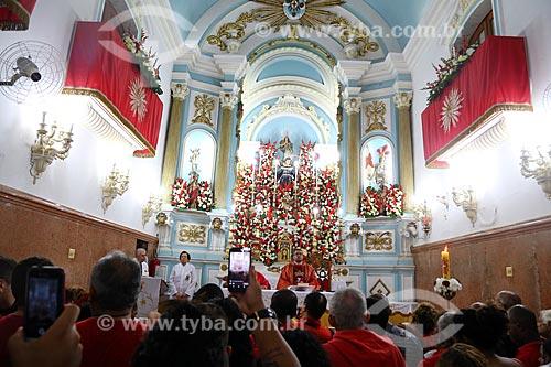 Missa no dia de São Jorge na Igreja São Gonçalo Garcia e São Jorge  - Rio de Janeiro - Rio de Janeiro (RJ) - Brasil