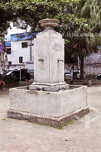 Chafariz do Pedreira (1851) na Praça do Chafariz   - Paraty - Rio de Janeiro (RJ) - Brasil