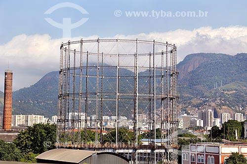 Antigo gasômetro da Companhia Estadual de Gás (CEG)  - Rio de Janeiro - Rio de Janeiro (RJ) - Brasil