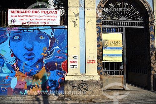 Entrada da Cafeteria Largo das Letras  - Rio de Janeiro - Rio de Janeiro (RJ) - Brasil