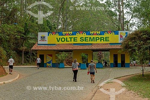 Entrada do Parque Ecológico Gruta Santa Luzia  - Mauá - São Paulo (SP) - Brasil