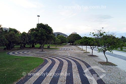 Foto feita com drone do estacionamento do Assador Rios - antigo Restaurante Porcão Rios  - Rio de Janeiro - Rio de Janeiro (RJ) - Brasil
