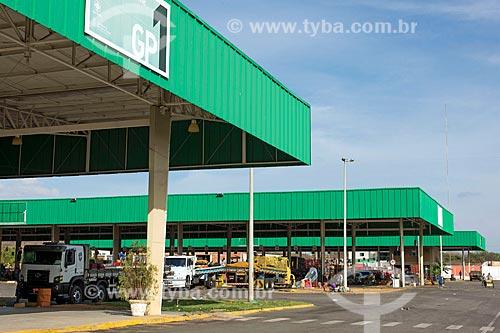 Vista de armazéns da Centrais de Abastecimento do Ceará S.A. - CEASA do Cariri  - Barbalha - Ceará (CE) - Brasil