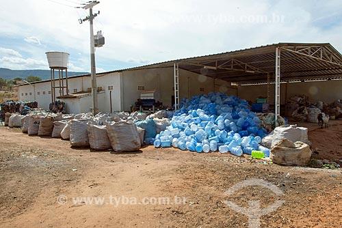 Galpão de usina de reciclagem  - Crato - Ceará (CE) - Brasil