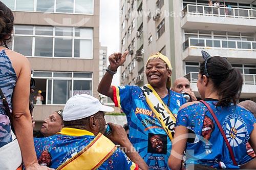 Martnália durante o desfile do bloco de carnaval de rua Banda de Ipanema na Avenida Vieira Souto  - Rio de Janeiro - Rio de Janeiro (RJ) - Brasil