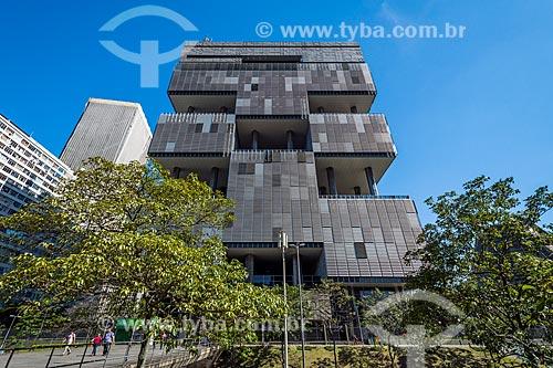 Fachada do Edifício Sede da Petrobras  - Rio de Janeiro - Rio de Janeiro (RJ) - Brasil