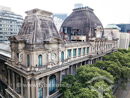 Foto feita com drone do Museu Nacional de Belas Artes (1938)  - Rio de Janeiro - Rio de Janeiro (RJ) - Brasil