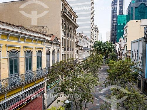 Foto feita com drone da Rua Uruguaiana  - Rio de Janeiro - Rio de Janeiro (RJ) - Brasil