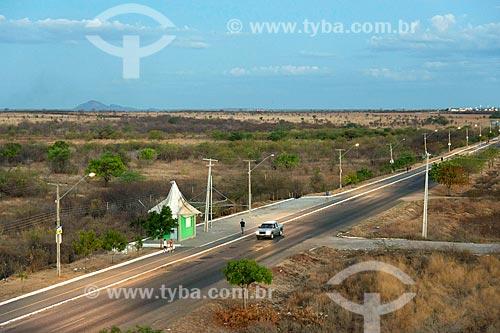 Vista de cima de trecho da Avenida João Bosco Marques de Sousa  - Sousa - Paraíba (PB) - Brasil