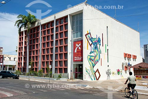 Fachada do Centro Cultural Banco do Nordeste  - Sousa - Paraíba (PB) - Brasil