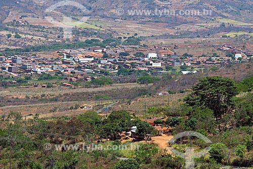 Vista geral do sertão pernambucano próximo à cidade de Santa Cruz da Baixa Verde  - Santa Cruz da Baixa Verde - Pernambuco (PE) - Brasil