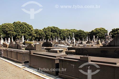 Interior do Cemitério de São Francisco Xavier - mais conhecido como Cemitério do Caju  - Rio de Janeiro - Rio de Janeiro (RJ) - Brasil
