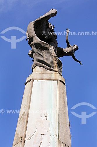Detalhe do Monumento ao Marechal Floriano Peixoto (1910)  - Rio de Janeiro - Rio de Janeiro (RJ) - Brasil