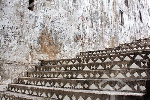 Escadaria na Rua Treze de Maio  - Olinda - Pernambuco (PE) - Brasil
