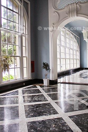 Interior do Palácio Quitandinha (1944) - também conhecido como Hotel Quitandinha  - Petrópolis - Rio de Janeiro (RJ) - Brasil