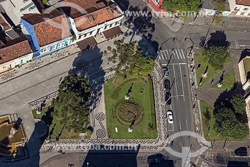 Foto aérea da Praça Garibaldi  - Curitiba - Paraná (PR) - Brasil
