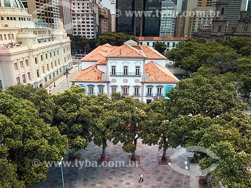 Foto feita com drone do Paço Imperial (1743)  - Rio de Janeiro - Rio de Janeiro (RJ) - Brasil