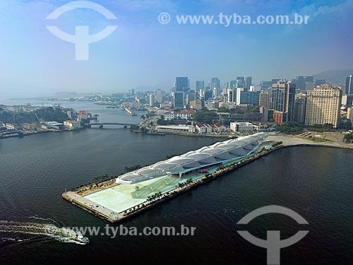 Foto feita com drone do Museu do Amanhã  - Rio de Janeiro - Rio de Janeiro (RJ) - Brasil
