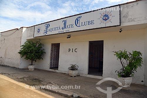 Fachada do Paquetá Iate Clube (1956)  - Rio de Janeiro - Rio de Janeiro (RJ) - Brasil