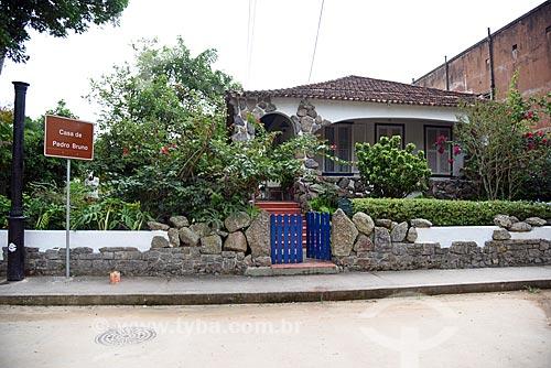 Fachada da Casa de Pedro Bruno  - Rio de Janeiro - Rio de Janeiro (RJ) - Brasil