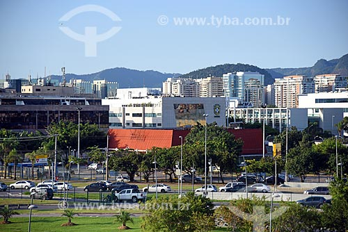 Vista do edifício sede da Confederação Brasileira de Futebol (CBF)  - Rio de Janeiro - Rio de Janeiro (RJ) - Brasil