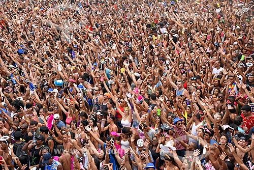 Desfile do bloco de carnaval de rua Chora Me Liga - da dupla sertaneja João Lucas & Matheus  - Rio de Janeiro - Rio de Janeiro (RJ) - Brasil