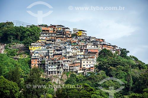 Vista geral do Morro dos Prazeres  - Rio de Janeiro - Rio de Janeiro (RJ) - Brasil