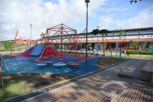 Parque na Praça Muhammad Ali  - Rio de Janeiro - Rio de Janeiro (RJ) - Brasil