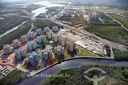 Foto aérea do Condomínio Residencial Vila Pan-Americana  - Rio de Janeiro - Rio de Janeiro (RJ) - Brasil